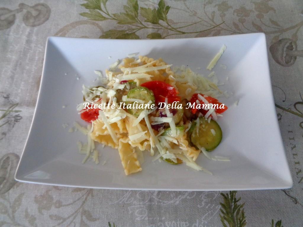 Ricetta Pasta con le zucchine