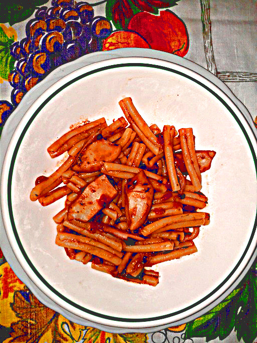 Ricetta pasta al sugo di seppia