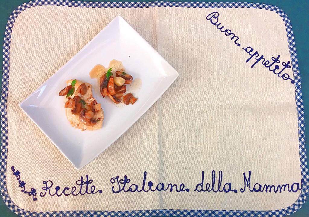 Ricetta scaloppine con champignons