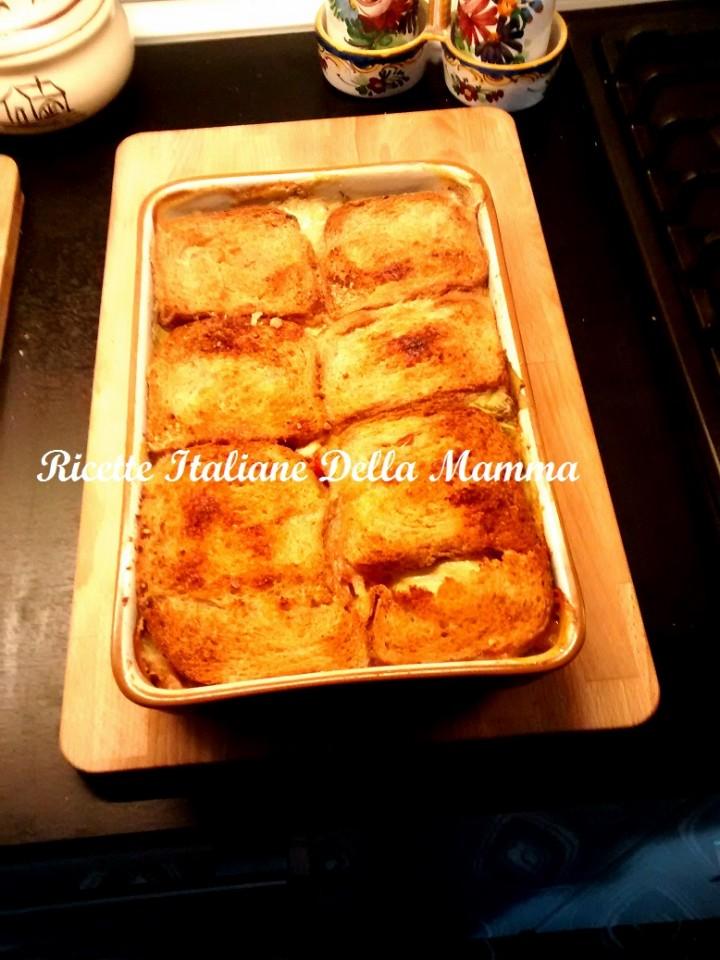 Tortino di pane in cassetta ricette italiane della mamma for Le ricette italiane