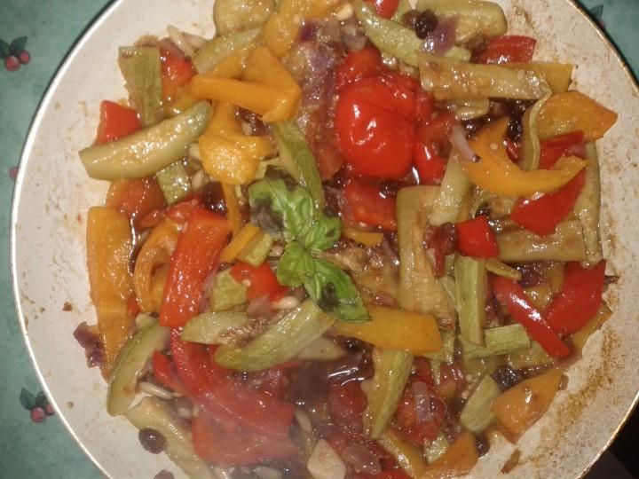 Ricetta verdure in agrodolce