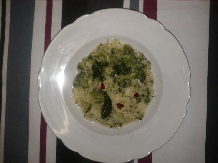Ricetta polenta con I broccoletti