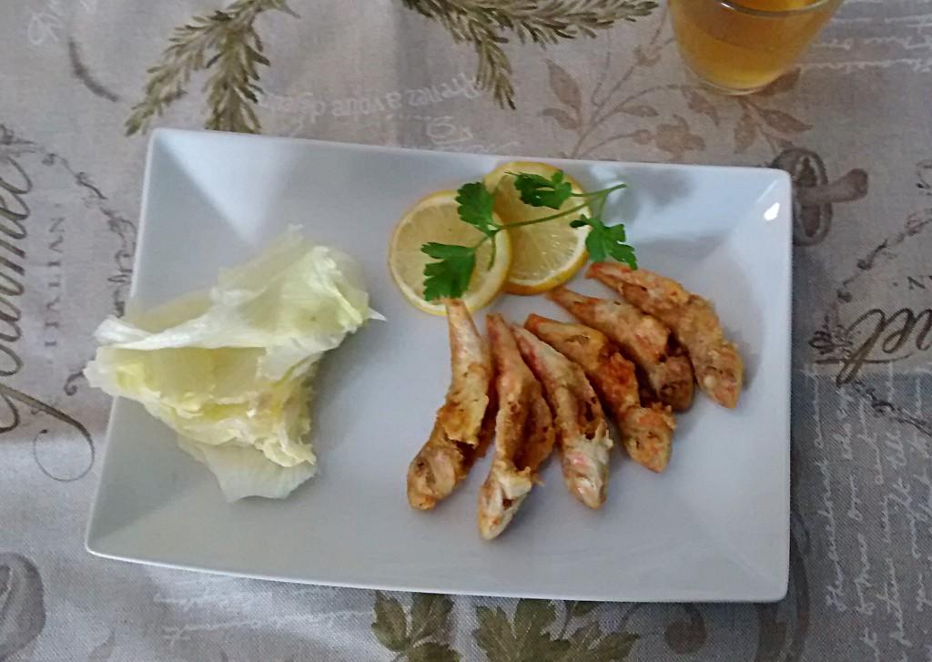 Ricetta frittura di pesce
