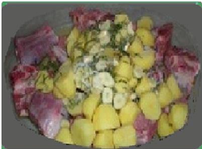 Ricetta agnello al forno con patate