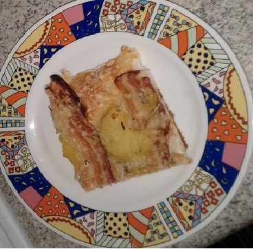 Ricetta focaccia con speck e formaggio