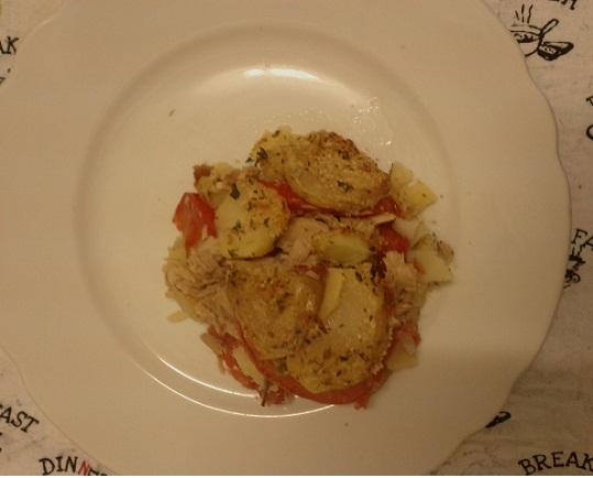 Ricetta sformato di patate e tonno