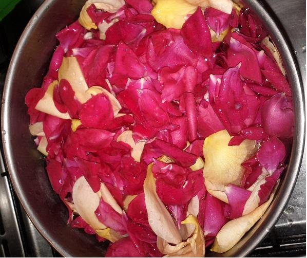 Ricetta acqua di rose