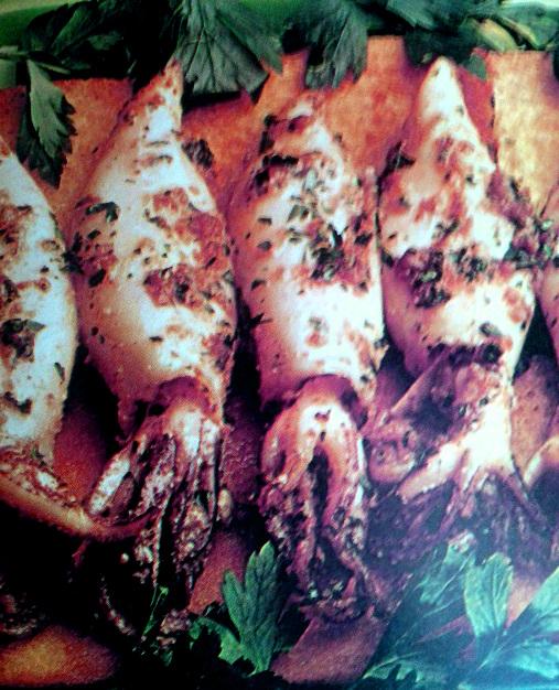 Ricetta calamari ripieni