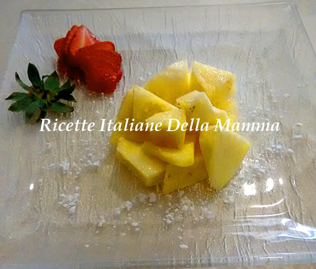 Ricetta Ananas al limone