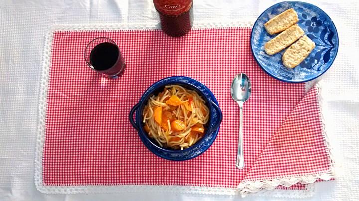 Ricetta Zuppa con spaghetti