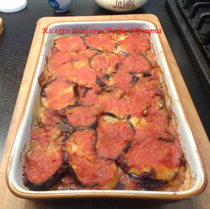 Ricetta La mia Parmigiana di melanzane