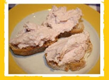 Ricetta crostini alla crema di prosciutto cotto