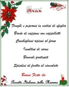 menu capodanno 2