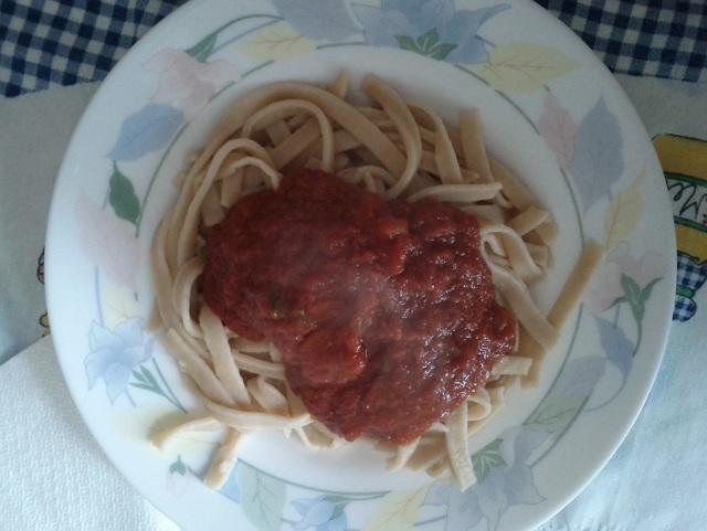 Ricetta Tagliatelle al sugo di carne