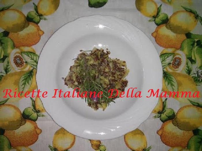 Ricetta Quinoa con la verza