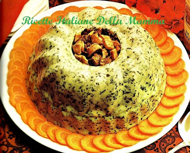 Sufflè di spinaci