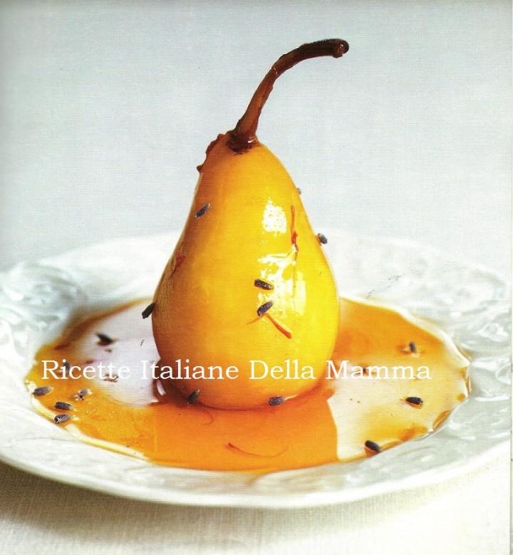 Ricetta Pere cotte speziate