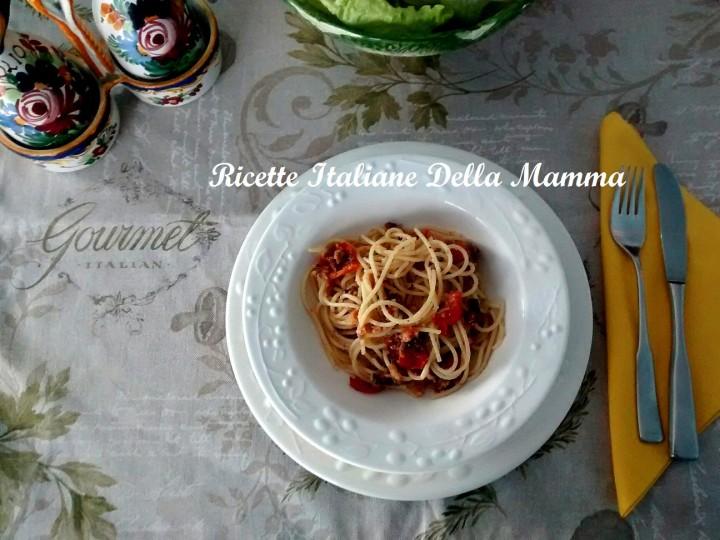 Ricetta Spaghetti gustosi