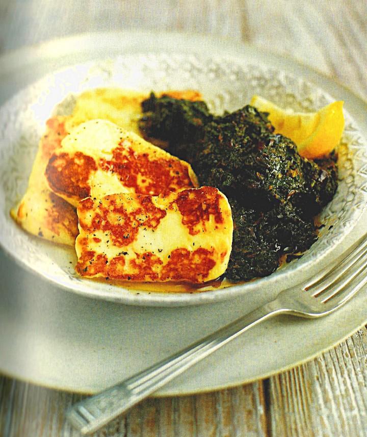 Ricetta Spinaci e formaggio grigliato