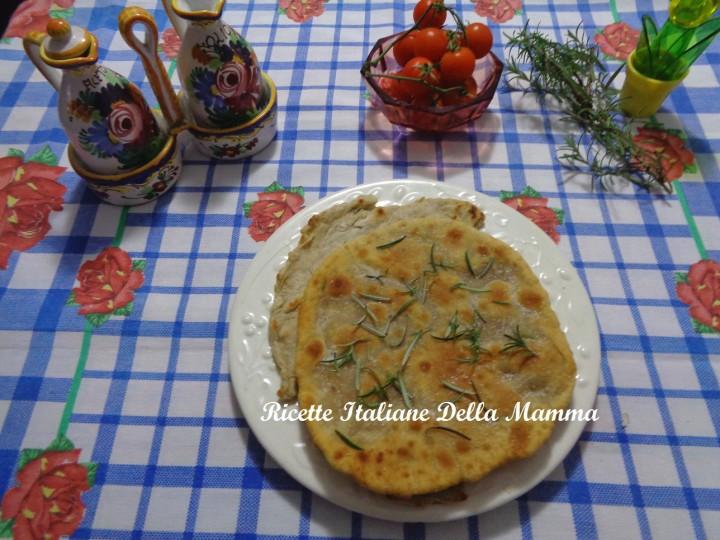 Ricetta Pitta senza lievito