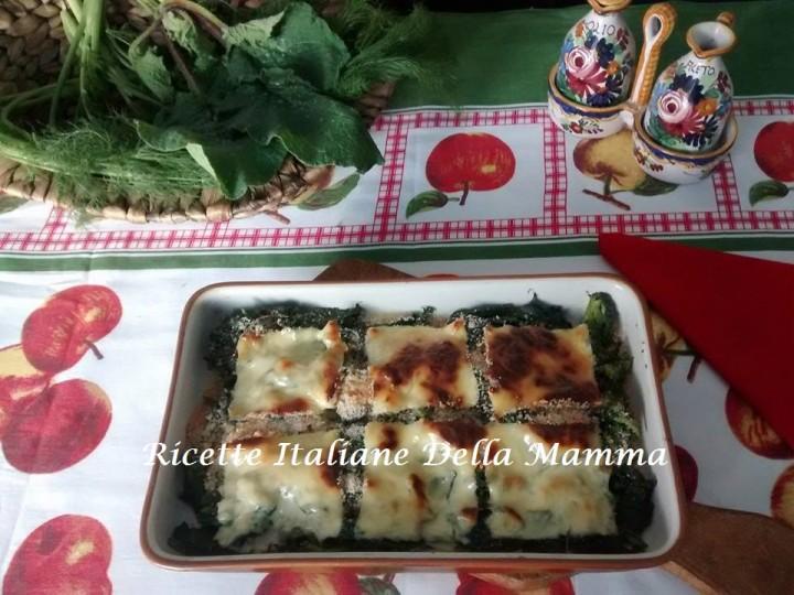 Ricetta Erbette di campagna gratinate