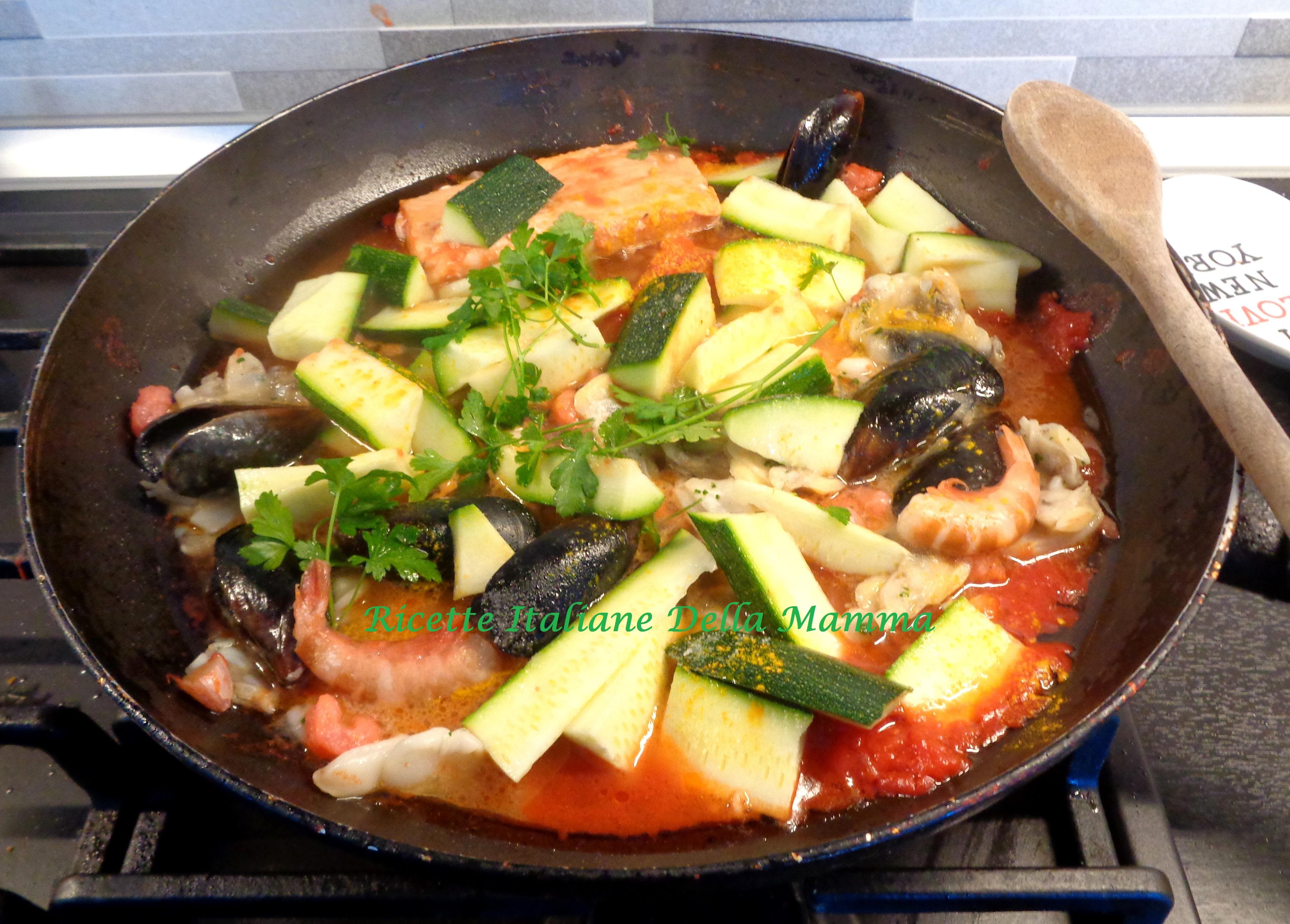 Pasta Con Pesce E Zucchine
