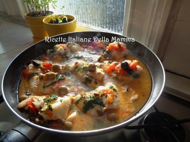 Ricetta Filetti di Haddock con olive