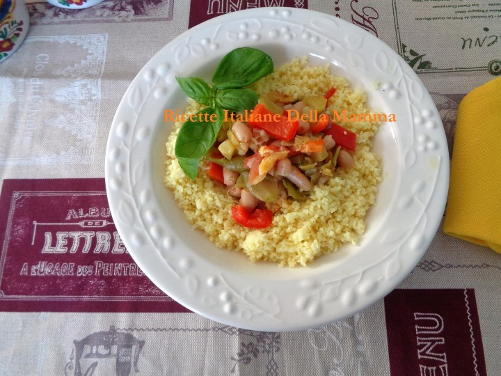 Ricetta Couscous vegetariano